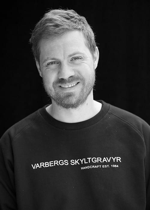 Andreas Sörensen, Varbergs Skyltgravyr