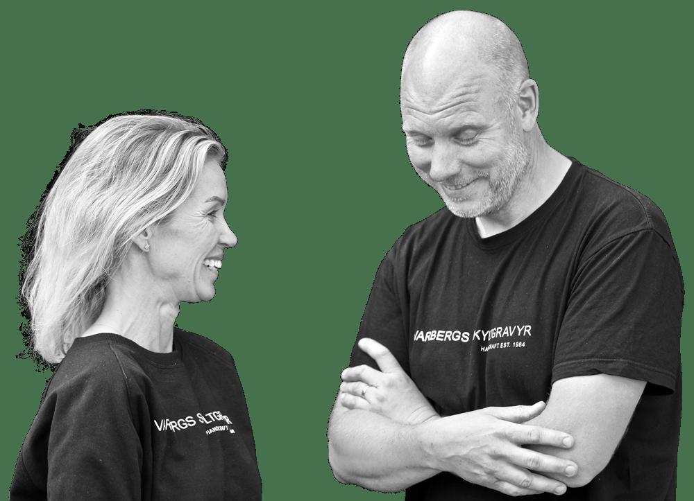 Anna Brue och Johan Lyckton