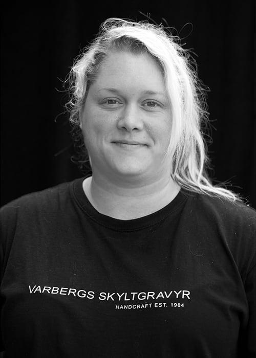 Cecilia Svensson, Varbergs Skyltgravyr