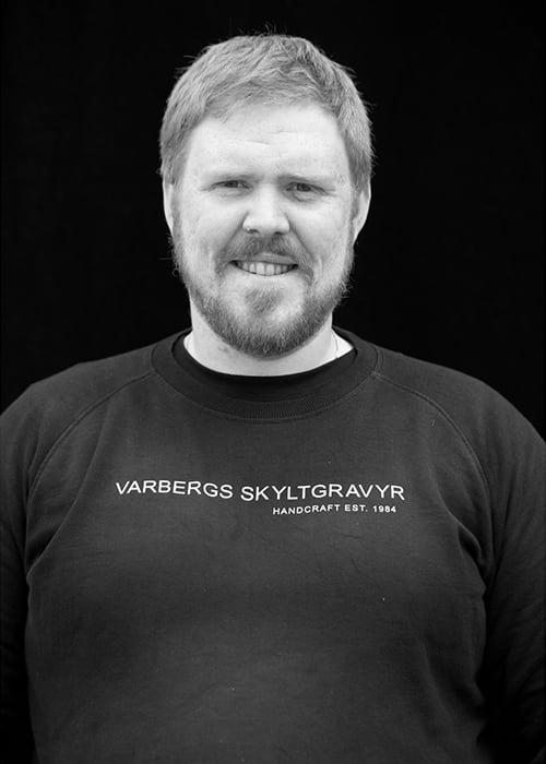 David Lundh, Varbergs Skyltgravyr