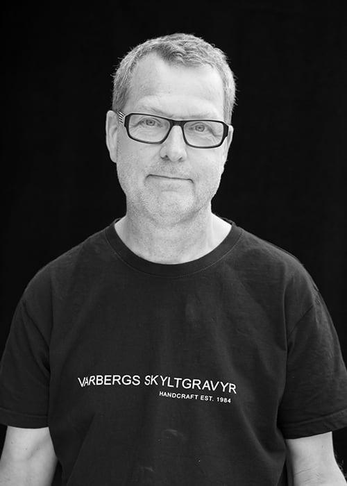 Kenneth Nilsson, Varbergs Skyltgravyr