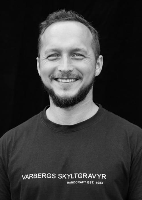 Tomas Dziwisz, Varbergs Skyltgravyr